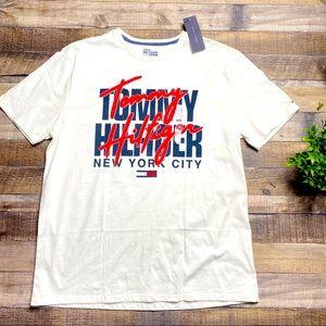 Tommy Hilfiger White Short Sleeve NWT XL
